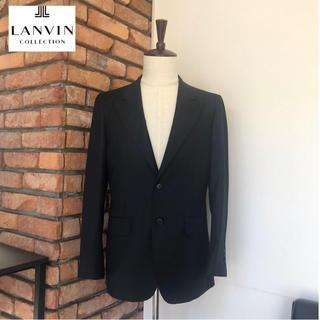 ランバン(LANVIN)の18万品試着程度 ランバン シングル2Bジャケット 黒タグ ネイビー (テーラードジャケット)