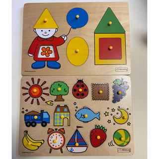 ボーネルンド(BorneLund)のボーネルンド パズル 木製 セット(知育玩具)