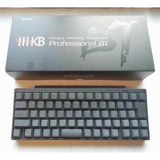 フジツウ(富士通)のHHKB Professional BT キーボード  日本語配列 墨モデル(PC周辺機器)