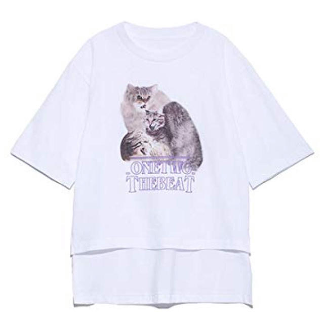 fur fur(ファーファー)のファーファー プリントT レディースのトップス(Tシャツ(半袖/袖なし))の商品写真