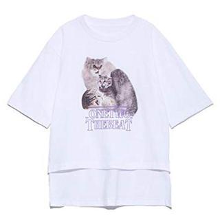 fur fur - ファーファー プリントT