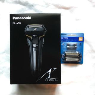 Panasonic - Panasonic ES-LV5D ラムダッシュ ブラック 数量限定替刃セット