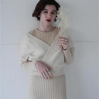 mystic - simple rib knit onepiece