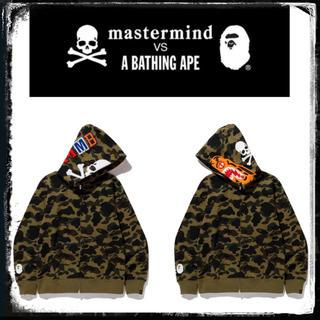 マスターマインドジャパン(mastermind JAPAN)のmastermind VS A BATHING APE タイガーパーカー(パーカー)