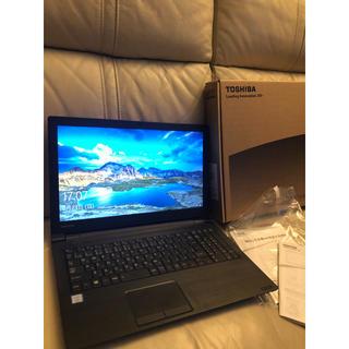 トウシバ(東芝)のノートパソコン 東芝 AZ35/G 1TB HDD office(ノートPC)