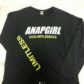 アナップ(ANAP)のANAPガールロンT(Tシャツ/カットソー)