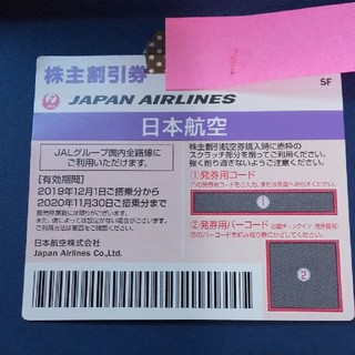 JAL(日本航空) - JAL株主優待10枚(当日ラクマパック発送)