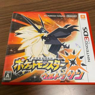 ニンテンドー3DS(ニンテンドー3DS)のポケットモンスター ウルトラサン 3DS(携帯用ゲームソフト)