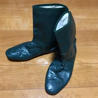 アーペーセー(A.P.C)のポルセリ E.PORSELLI ショート ブーツ グリーン (ブーツ)