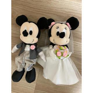 ミッキーマウス - ミッキー ミニー ウェディング ぬいぐるみ 結婚式