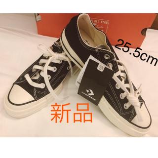 コンバース(CONVERSE)の【新品】★ct70 チャックテイラー converse 25.5cm ブラック★(スニーカー)