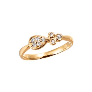 JEWELRY TSUTSUMI - ツツミ K18YG ダイヤモンド リング 9号