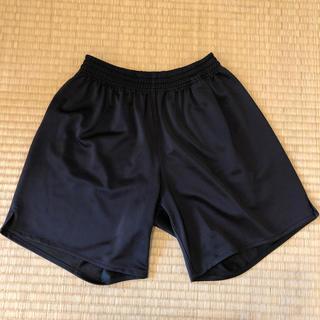 サッカー キッズ ハーフパンツ 黒 150(ウェア)