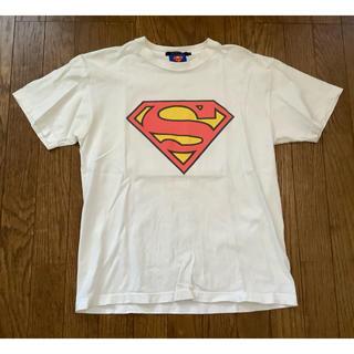 ビームス(BEAMS)のビームス BEAMS Tシャツ M スーパーマン バッグプリント(Tシャツ/カットソー(半袖/袖なし))