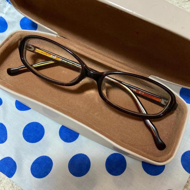 Zoff(ゾフ)のメガネ レディースのファッション小物(サングラス/メガネ)の商品写真