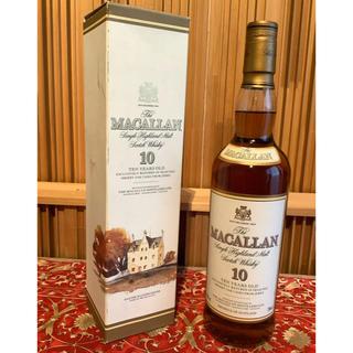 サントリー - MACALLAN  マッカラン 10年(オールドボトル 旧ボトル)700ml