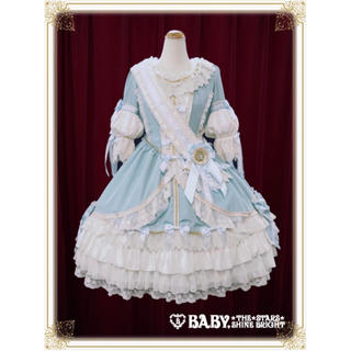 BABY,THE STARS SHINE BRIGHT - 深澤翠 コラボドレス La robe vert clair エシャルプ&ドレス