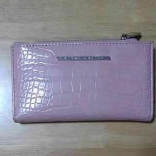 ザラ(ZARA)のStradivarius クロコ型押し折り財布(財布)