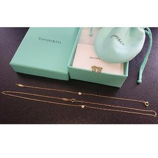 Tiffany & Co. - ティファニー バイザヤード ネックレス&ブレスレット&ピアス 3点 0.08ct