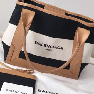 BALENCIAGA BAG - バレンシアガ トートバッグ ボーダー