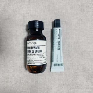 イソップ(Aesop)のAesop マウスウォッシュ18 トゥースペースト(歯磨き粉)