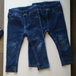 MUJI (無印良品) - 無印良品 ズボン 子供 90