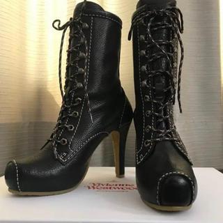 Vivienne Westwood - 新品 ブーツ 36 22.5 ヴィヴィアンウエストウッド
