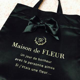 メゾンドフルール(Maison de FLEUR)のリボントートバッグ(トートバッグ)