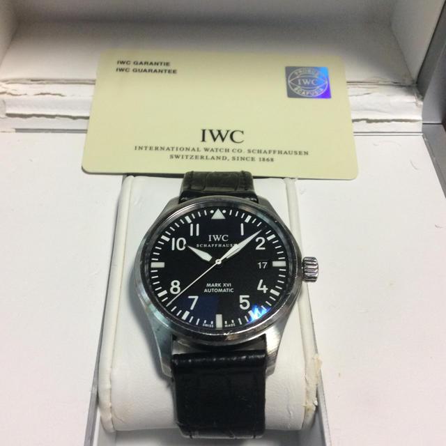 IWC - IWC  MARK16 (要オーバーホール)+純正尾錠の通販