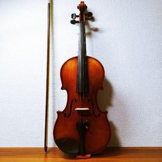 【深紅虎杢】スズキ 4/4 No.360 バイオリン 1976(ヴァイオリン)