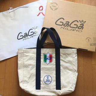 ガガミラノ(GaGa MILANO)の正規品☆ガガミラノ 10周年限定 トートバッグ ハンドバッグ キャンパス(トートバッグ)