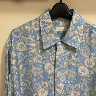 DRIES VAN NOTEN - ドリスヴァンノッテン 2018ss フラワープリントシャツ