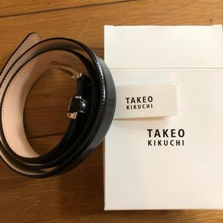 TAKEO KIKUCHI - TAKEO KIKUCHI ベルト