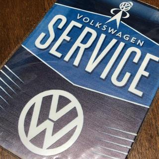 Volkswagen - ワーゲンサービス ブリキ看板