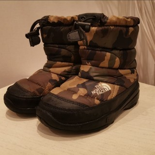 THE NORTH FACE - THE NORTH FACEキッズヌプシSize18