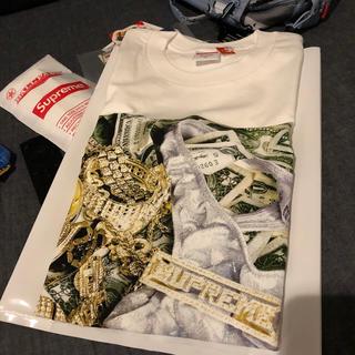 シュプリーム(Supreme)のSupreme bling tee(Tシャツ/カットソー(半袖/袖なし))