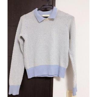 ダブルクローゼット(w closet)の美品 wcloset セーター(ニット/セーター)