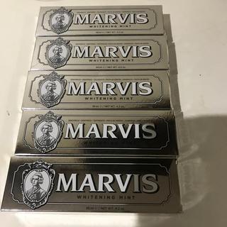 マービス(MARVIS)のマービス 歯磨き粉  ホワイトニングミント(歯磨き粉)