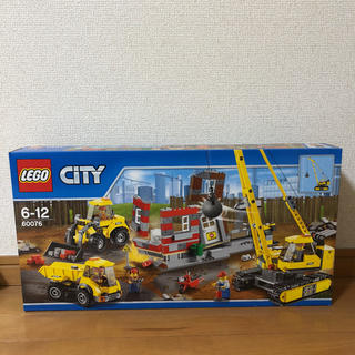 Lego - 【新品・未使用】レゴ LEGO  シティ ビル解体工事現場 60076