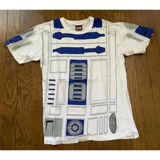 R2-D2 Tシャツ L スターウォーズ ドロイド スカイウォーカーの夜明け(Tシャツ/カットソー(半袖/袖なし))