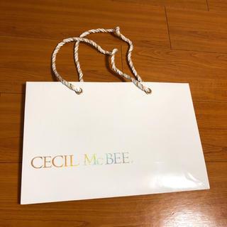 CECIL McBEE - CECIL Mc BEE セシルマクビー ショップ袋