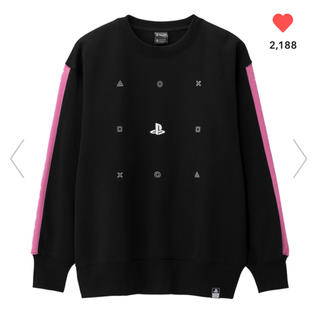 GU - ジーユー PlayStation プレイステーション スウェット 完売 GU