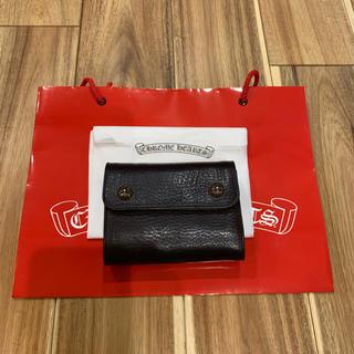 Chrome Hearts - レア クロムハーツ WAVE MINI ウェーブ ミニ 財布 二つ折り