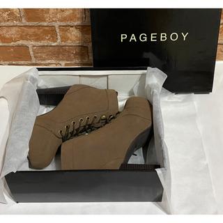 ページボーイ(PAGEBOY)のPAGEBOY ショートブーツ(ブーツ)