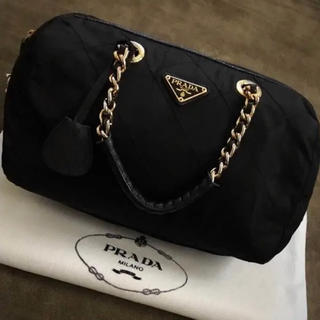 PRADA - PRADAプラダキルティングハンドバッグ