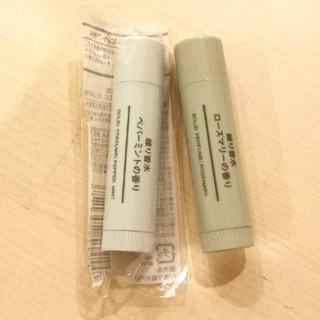 ムジルシリョウヒン(MUJI (無印良品))の無印良品 練り香水 ペパーミント&ローズマリー(香水(女性用))