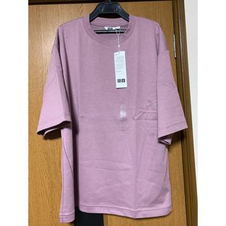 UNIQLO - エアリズムコットンオーバーサイズTシャツ