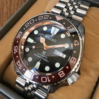 セイコー(SEIKO)のセイコーダイバー  SKX009 ネイビーボーイ MOD カスタム(腕時計(アナログ))