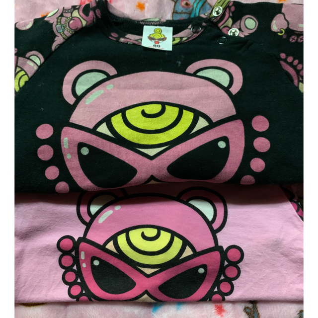 HYSTERIC MINI(ヒステリックミニ)のラグラン🐻 キッズ/ベビー/マタニティのキッズ服女の子用(90cm~)(Tシャツ/カットソー)の商品写真