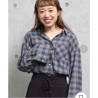 ダブルクローゼット(w closet)の先染めチェック長袖シャツ(シャツ/ブラウス(長袖/七分))